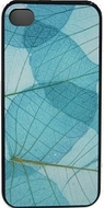 Aqua Leaves Phone Case