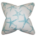 Aqua Starfish Pillow