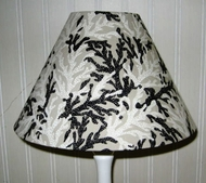 Black Coral Lampshades