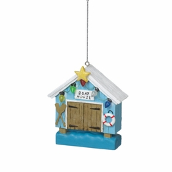 Boat House Ornament