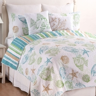 Catalina Shores Queen Quilt Set