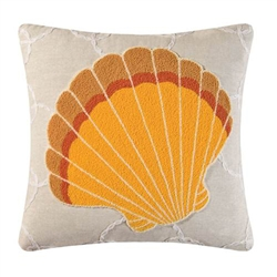 Clam Shell Pillow Hampton Cove