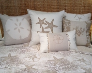 Coastal Bedding White Coral