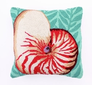 Coastal Pillow Nautilus and Seaweed