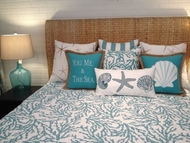 Coastal Reef Blue Bedding