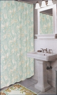 Coastal Seashell Shower Curtain Sealife