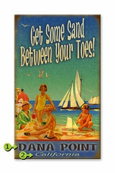 Custom Beach Sign Sand Between Your Toes