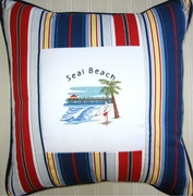 Custom Pillow Your City or Boat Name