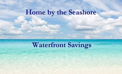 In Store Waterfront Savings Card
