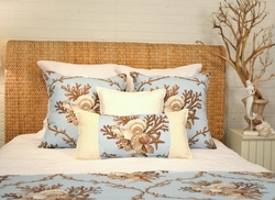 Light Blue Shell Pillows Sea Isle