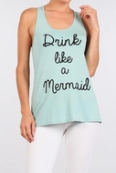 Mermaid Tank drink Like a Mermaid