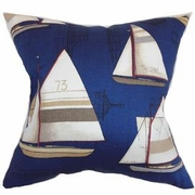 Nautical Pillow Newport Harbor
