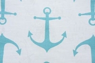 Nautical Shower Curtain Maine Harbor