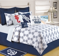 Nautical Twin Quilt Harbor Point