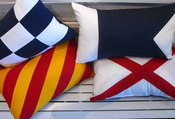 Oblong Nautical Pillows