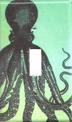 Octopus Switchplate Green