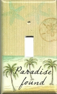Paradise Found Switchplate