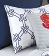 Quilted Nautical Sham