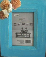 Rustic Seashell Picture frames