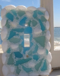 Sea Glass Light switch cover