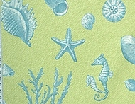Seabreeze Coastal Shower Curtain