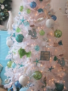 Seashell and Coastal  Ornaments, Wreaths and Holiday Decor