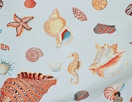 Seashell Curtain Panel Beachside