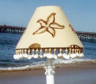 Seashell Lampshade Along the Shore