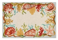Seashell Wool Rug Sanibel