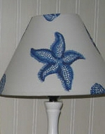 Seaside lampshades