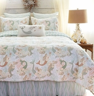 Seaside Mermaid Quilt Bedding sold out until March