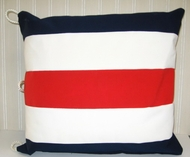 Sunbrella Nautical Pillow Charlie Letter C