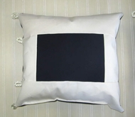 Sunbrella Nautical Pillow Sierra Letter S