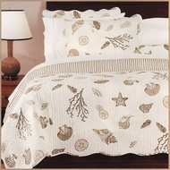 Tan Seashell Quilt