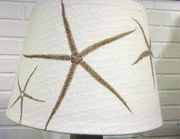 Tan Starfish Lampshade