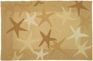 Tan Starfish Rug