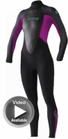 3/2mm Youth Junior O'Neill REACTOR�Full Wetsuit