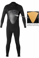 4/3mm Mens Hyperflex FLOW Full Wetsuit Top Entry Wetsuit