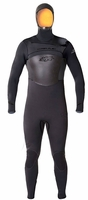 5/4/3mm Men's Hyperflex AMP Hooded Wetsuit New Aerodome!