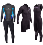 All Womens Scuba Diving Wetsuits