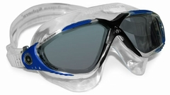 Aqua Sphere Vista Mask - Smoke Lens / Blue Frame
