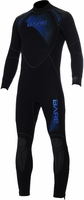 BARE Mens 3/2mm Sport Wetsuit