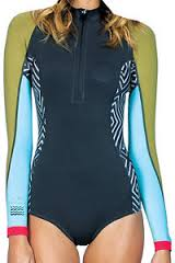 Billabong 202 Salty Daze Women's Long Sleeve Springsuit - Multi