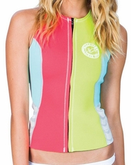 Billabong Surf Capsule Sneeky Vest Neoprene Vest - Lemon Yellow