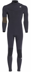Billabong Revolution Invert Wetsuit Men's 403 4/3mm Chest Zip