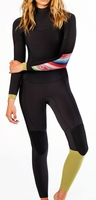 Billabong Surf Capsule Wetsuit Salty Dayz Women's 4/3mm Chest Zip 403