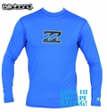 Billabong Chronicle Loose Fit Long Sleeve Rashguard - Royal Blue