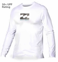 Billabong Chronicle Loose Fit Rashguard Long Sleeve - White