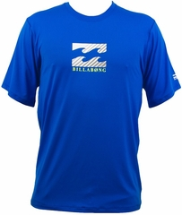 Billabong Chronicle Rashguard Loose Fit Short Sleeve - Royal Blue