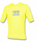 Billabong Chronicle Loose Fit SS Rashguard - Yellow